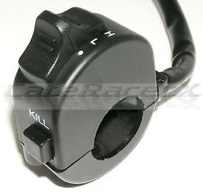 MOTORCYCLE UNIVERSAL HEAD LIGHT OFF/LOW/HI SWITCH & KILL BUTTON K&S Tech 12-0050
