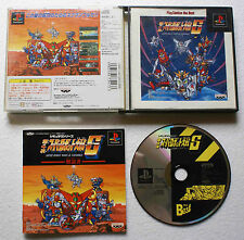 SUPER ROBOT WARS IV SCRAMBLE 4 (Japan) sur Sony PLAYSTATION 1 PS1