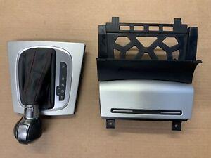 AUDI S3 8P DSG GEAR KNOB GAITER AND ASHTRAY 2009 - 2012