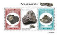 Djibouti Space Stamps 2020 MNH Meteorites Chelyabinsk Sikhote-Alin 2v S/S I