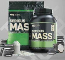 Optimum Nutrition Serious Mass 5.4kg Weight Gainer Powder + Free ON Protein Bar