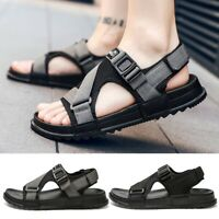2019 Men's Sandals Adjust Strap Open Toe Casual Sport Beach Walking Hiking Shoes
