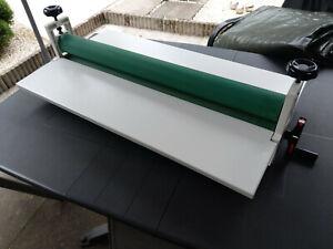 Laminiergerät Rollenlaminator Laminator Laminating 750mm Kaltlaminator
