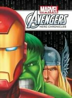NEW Marvel Avengers  Hero Chronicles by Rich Thomas Hardback FREE Post