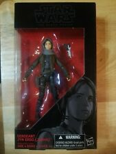 "Star Wars The Black Series 6"" SERGEANT JYN ERSO (JEDHA) #22 FREE SHIPPING"