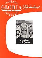 Werberatschlag | ANGELIQUE UND DER SULTAN |Original Gloria '68 | Michele Mercier