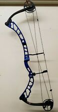 Elite VICTORY X RH 28 IN DRAW 60 LB WEIGHT COBALT BLUE USED 1 TARGET SEASON