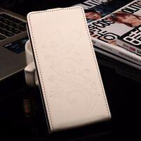 Funda libro piel sintetica tapa vertical mariposas Blackview BV6000