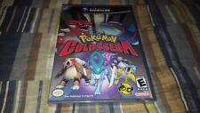 Pokemon Colosseum (Nintendo GameCube, 2004) NGC New Factory Sealed Black Label