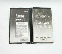 1990 Ford Ranger Factory Original Owners Manual Portfolio #V33