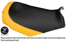 BLACK & YELLOW CUSTOM FITS SKI DOO GSX MXZ 03-09 REV RENAGADE VINYL SEAT COVER
