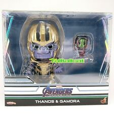 Marvel Hot Toys ENDGAME Thanos & Gamora Cosbaby Collectible BoxSet