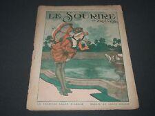 1918 OCTOBER 10 LE SOURIRE DE FRANCE MAGAZINE - ST 5188