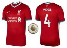 Trikot Nike FC Liverpool 2020-2021 Home Virgil van Dijk 4 I LFC PL Champions