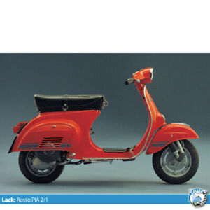 Vespa 0,5l Lack Max Meyer rosso 621 2/1 V50 Special 50r PX 125 150 200 (1l=70€)