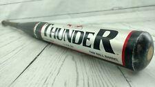 "Vintage Dudley Thunder Softball Bat 34"" 28 oz. 2 1/4 In. Dia. End Loaded"