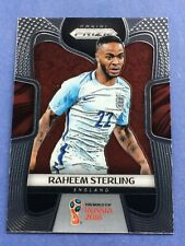 2018 Panini Prizm World Cup Raheem Sterling Base Card England Manchester City