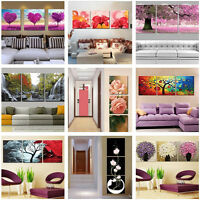 3 Part 40*50cm DIY Acrylic Paint By Number kit Oil Painting Flower Love Tree NEW