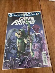 DC Green Arrow 1 Rebirth 2016 Really Nice Comic Book !