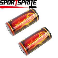 2pcs TrustFire 32650 3.7V 6000mAh Li-ion Lithium PCB Rechargeable Battery Cells
