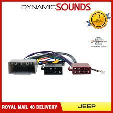 CT20JP02 Autoradio Iso Câble Harnais Câblage Adaptateur Câble pour Jeep