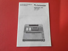 Schneider Amstrad Monitor MM 12 org. Service Anleitung Manual