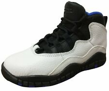 "Air Jordan Retro 10 ""Orlando"" White/Black-Royal Blue (Ps)"