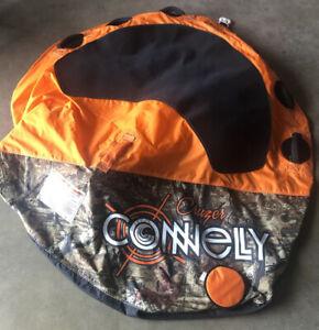 cruzer connelly 3 rider camo orange tube used clean