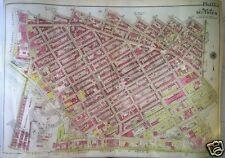 1907 WILLIAMSBURG BROOKLYN NY US NAVAL HOSPITAL WASHINGTON AV-UNION AV ATLAS MAP