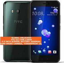 "HTC U11 6gb 128gb Dual Sim Octa-Core 12mp Fingerprint 5.5"" Android 4g Smartphone"
