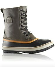 aa5b9483365 Canvas Solid Pattern Snow, Winter Boots for Men for sale | eBay
