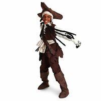 NEW Disney Parks Boney Pirates of the Caribbean Glow Dark COSTUME XS 4 Cruise