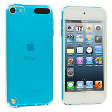 Clear TPU Plain Rubber Transparent Skin Case Cover for iPod Touch 5th Gen 5G 5