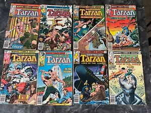 Marvel Tarzan Caomic Book Lot of 8