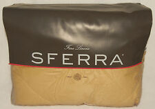 Sferra - Denina 3395 - Honey KING Size Quilted Coverlet Egyptian Cotton Sateen
