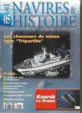 NAVIRES ET HISTOIRE N° 5 / LES CHASSEURS DE MINES TYPE TRIPARTITE - KOURSK