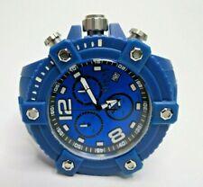 Invicta Reserve Octane 50mm Watch Blue 17290 Chronograph Swiss Made