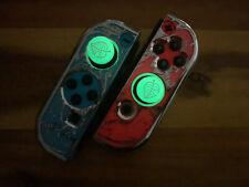 ? Glow in the Dark Joysticks Kappe Nintendo Switch Grün Animal Crossing Design