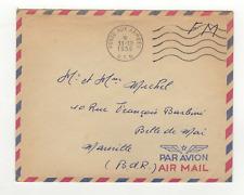 FM Algérie Poste aux Armées A.F.N. cachet 1956 sur lettre /L815