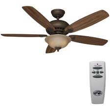 Southwind 52'' LED Indoor Venetian Bronze Ceiling Fan with Light Kit Hampton Bay
