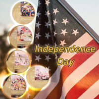 WR Independence Day Coin Colorful Gold Foil Souvenir Collection for Gift July 4