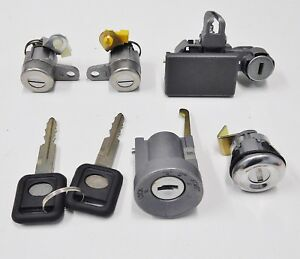 IGNITION, DOOR AND GLOVEBOX LOCK KIT &  KEYS FOR HOLDEN TF  RODEO 1997 TO 2002