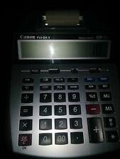 Canon P23-Dh V Printing Desktop Calculator Clock Calendar Adding Machine Tested