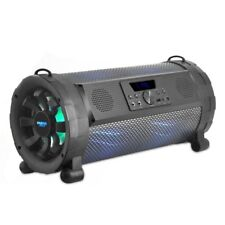 Pyle 300W Bluetooth Loud Blaster Stereo MP3 Boombox FM AUX USB LED Lights Remote