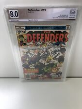 Defenders #59! Signed Stan Lee PGX 8.0 (Like CGC / CBCS) SEE PICS!
