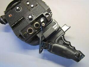 RARE BLACK EL ELECTRIC BOLEX DECLIC HANDLE + ADAPTER DISK  for 16mm movie camera