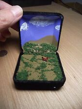 Miniature Diorama * Horse in the Desert * Lovely Handcrafted Meditative PORTABLE