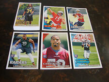 2010 Topps Football--Rookies--Lot Of 24--No Dupes--Multi-Lots--See List