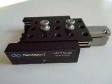 """Newport 460P XYZ Linear Stage 1"""" Travel per Axis Sm25 Micrometer 25mm Range"""