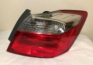 2013-15  Genuine Honda Accord 4 Door Right Passenger Side Outer Tail Light OEM